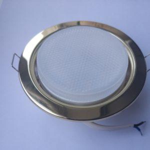 ветильник Gx53 (золотой) с лампой 6Вт 4200К